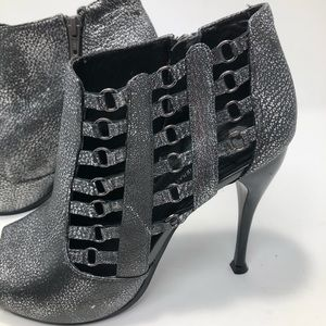 BCBGeneration Shoes - BCBGeneration Sexy Grunge Rocket Open Toe Booties